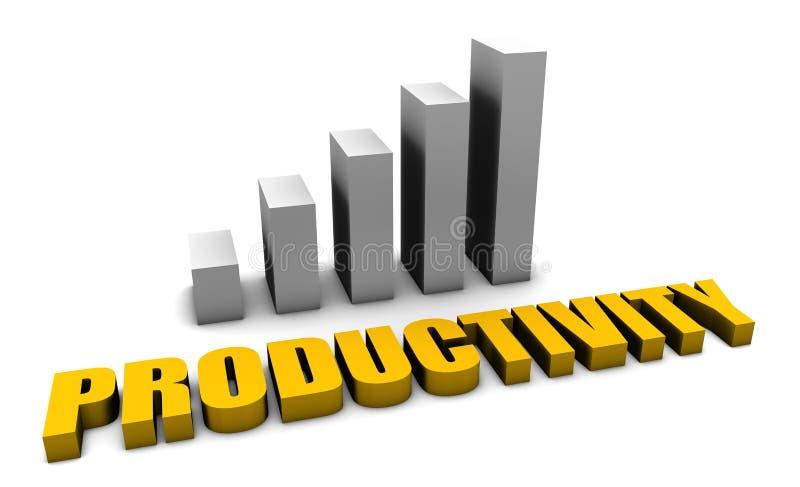 生产率 向量例证