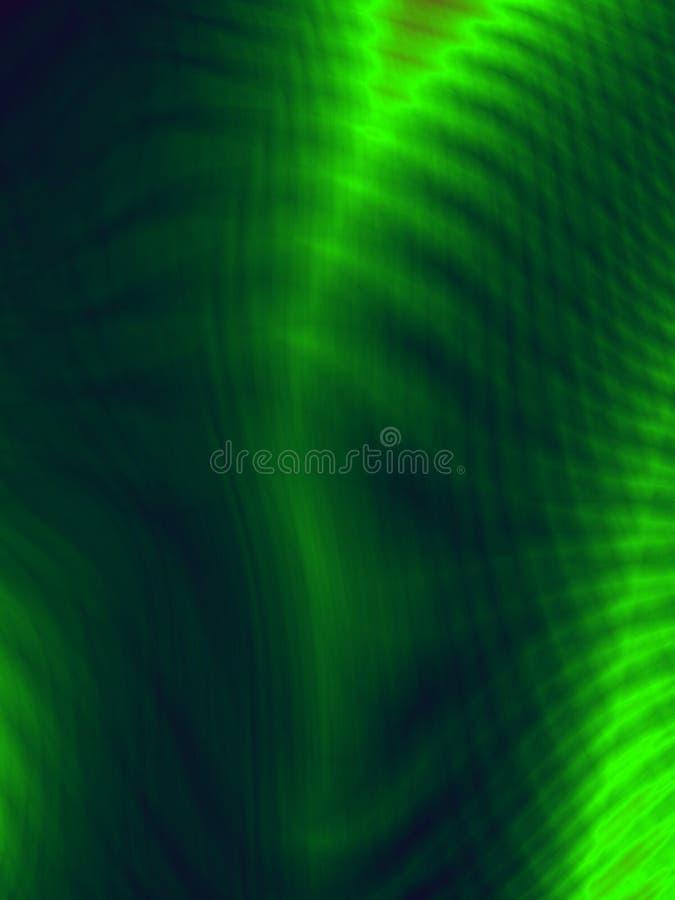 生叶背景抽象深度绿色样式 向量例证