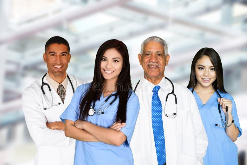 医生和护士 库存照片