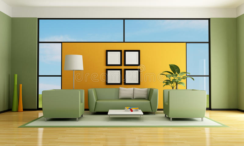 Download 生存现代空间 库存例证. 插画 包括有 水平, 闪亮指示, 视窗, 长沙发, 设计, 工厂, 舒适, 天空 - 22356714