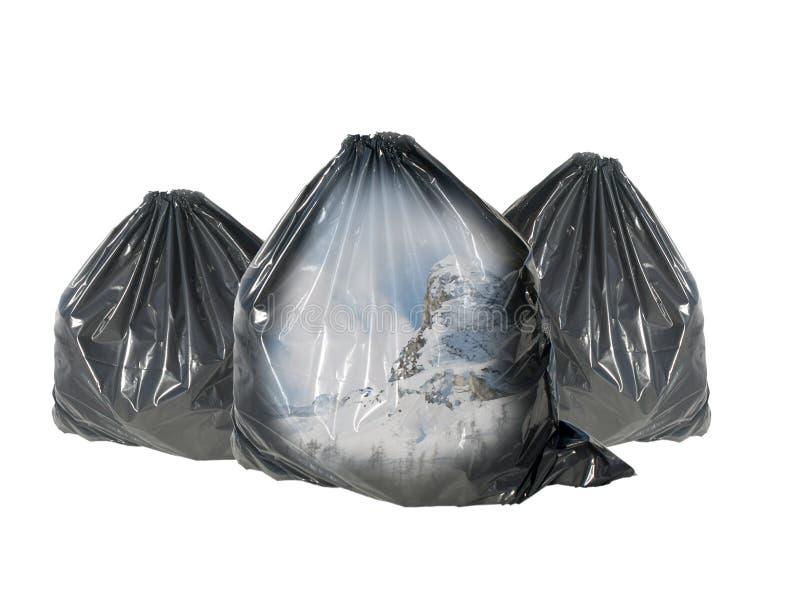 生态垃圾系列 免版税库存照片