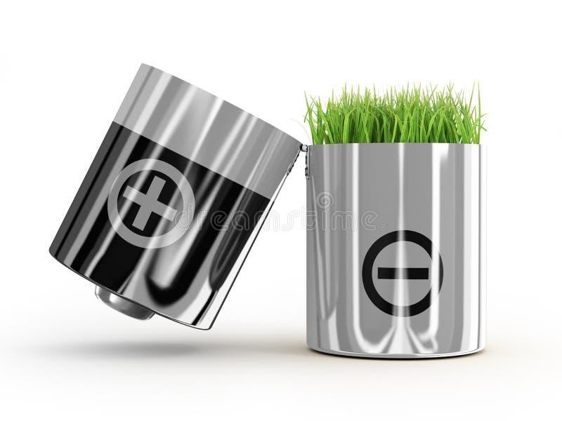 生态概念净能 向量例证