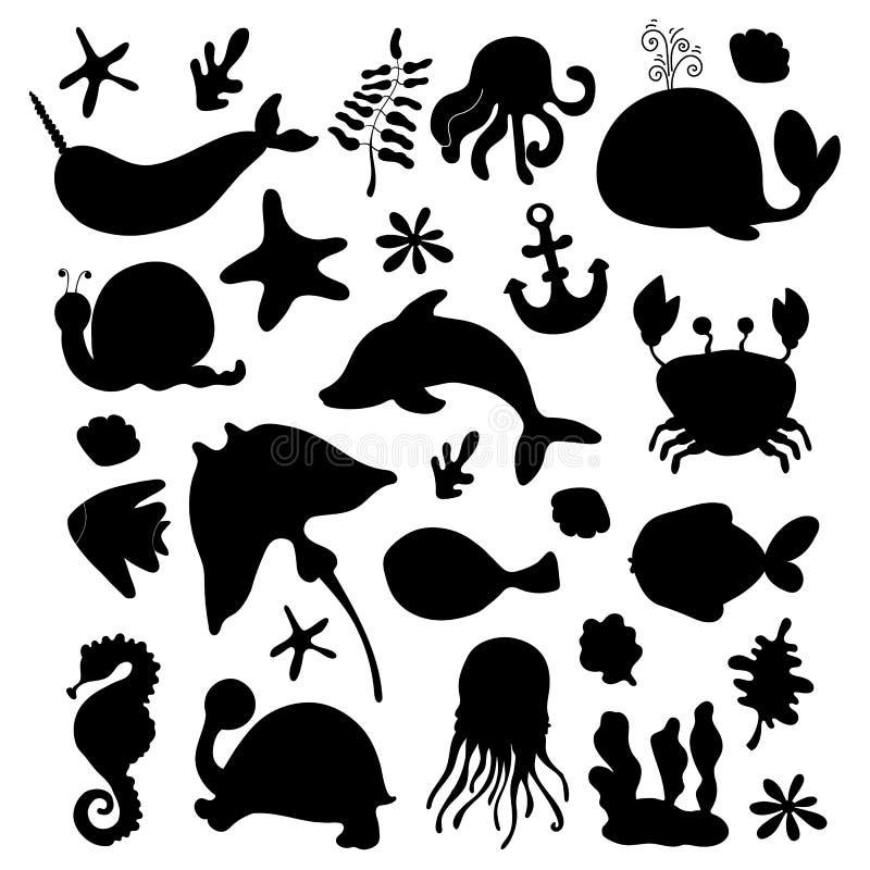 生态概念-塑料 皇族释放例证