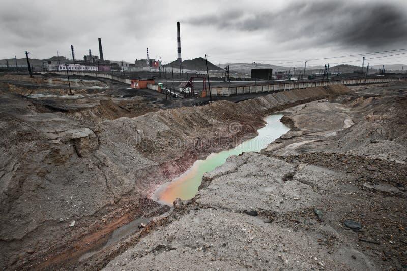 生态污染 免版税图库摄影