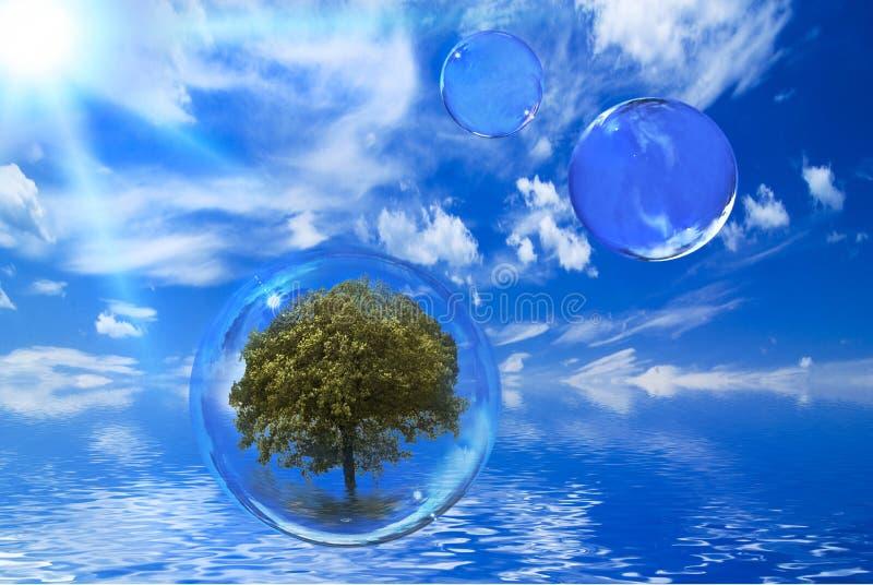 生态环境和可持续发展 库存图片