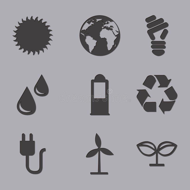 Download 生态象 库存例证. 插画 包括有 本质, 回收, 次幂, 灰色, 晒裂, 风车, 地球, 黑暗, 污染, bulfinch - 30333541