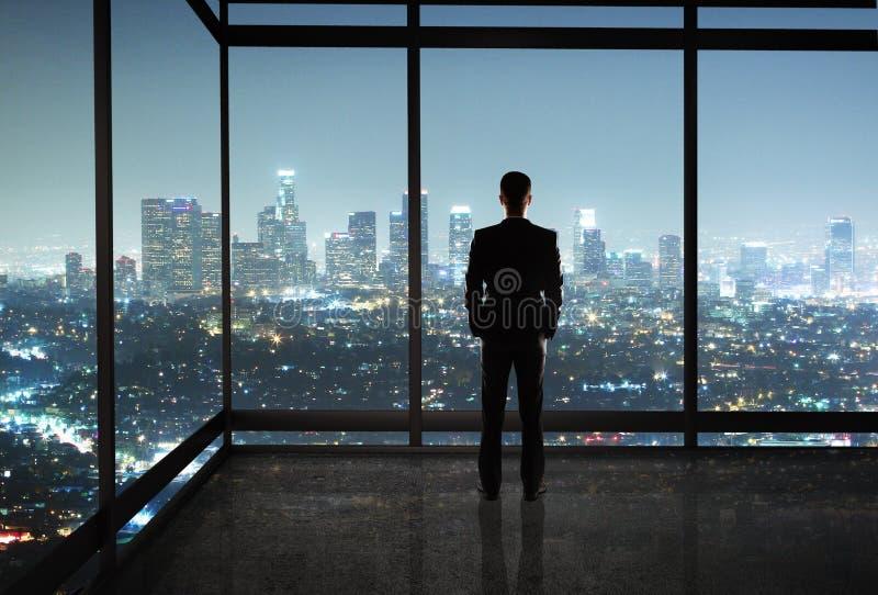 生意人在办公室 免版税库存照片