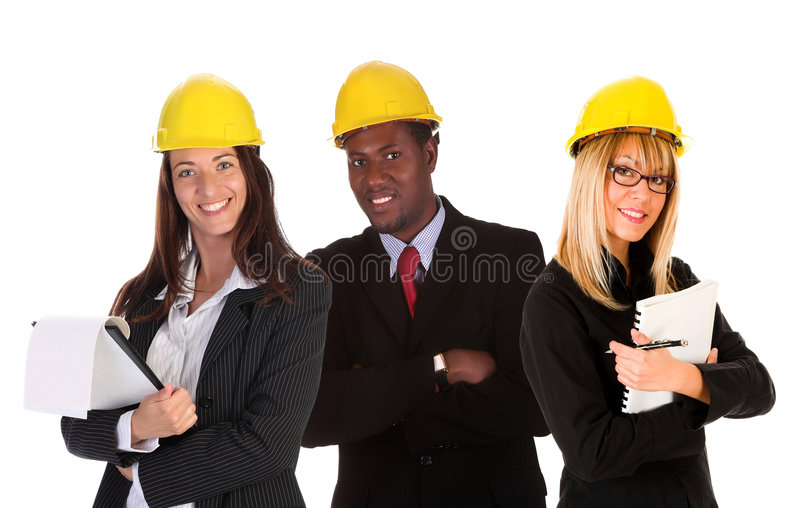 生意人女实业家二 免版税库存图片