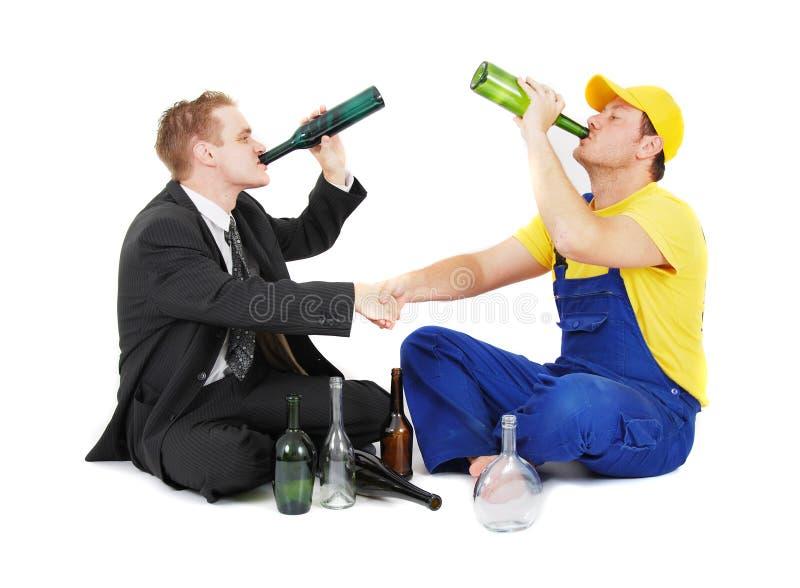 生意人工作者 免版税库存照片