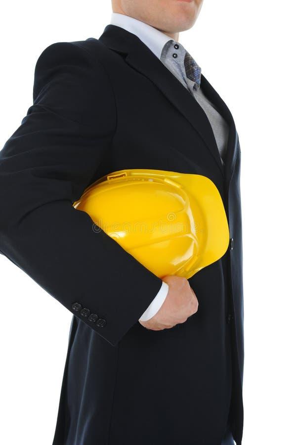 Download 生意人建筑盔甲 库存图片. 图片 包括有 商业, 建筑, 行业, 白种人, 投反对票, 特写镜头, 帽子 - 22358727