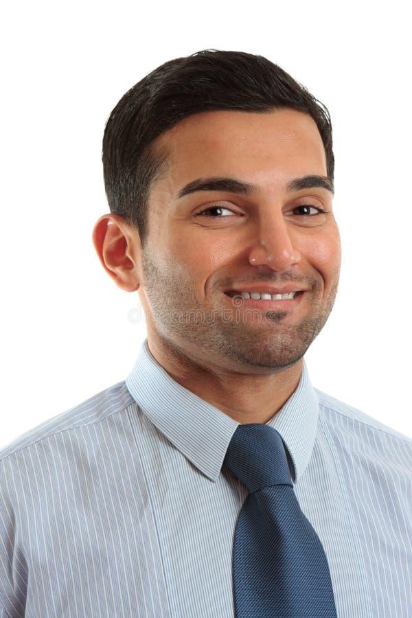 生意人微笑 库存图片