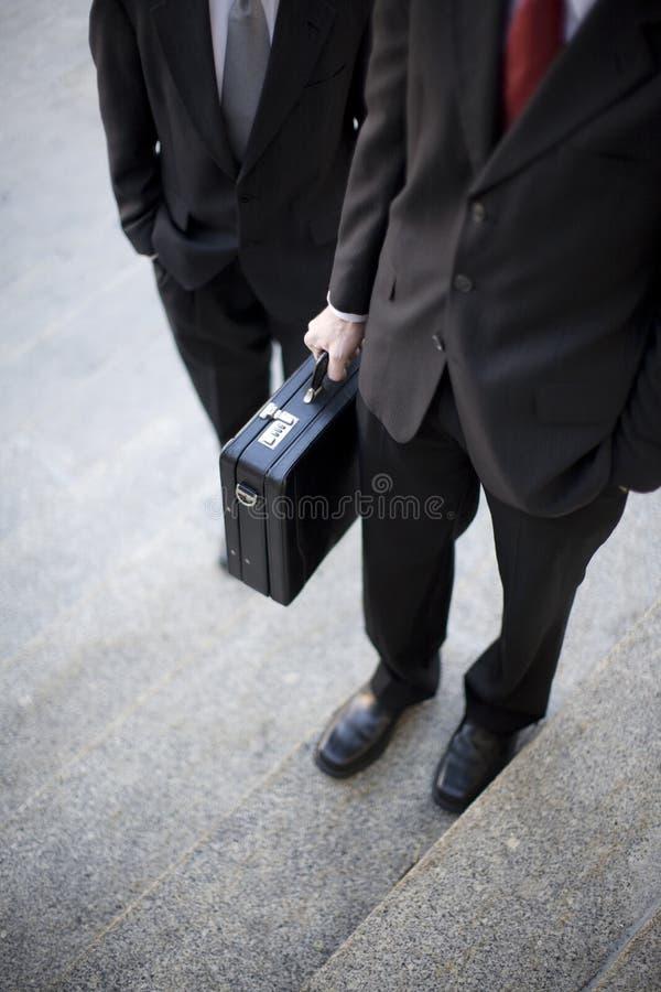 生意人步骤 免版税库存照片