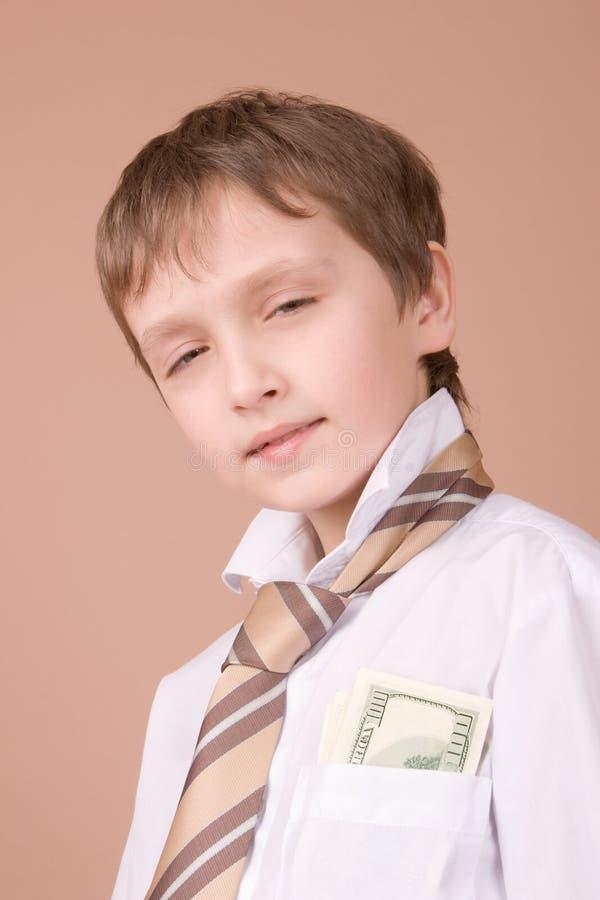 生意人纵向年轻人 免版税库存照片