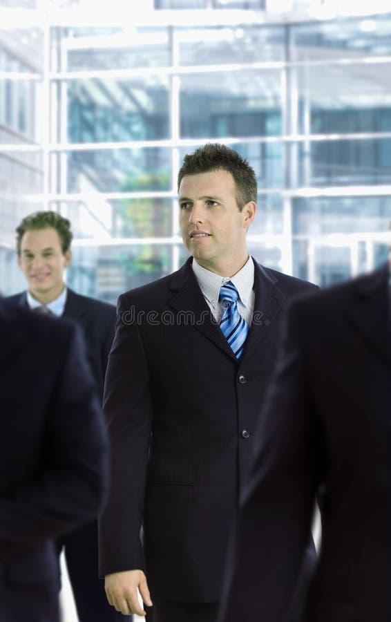 生意人纵向 图库摄影