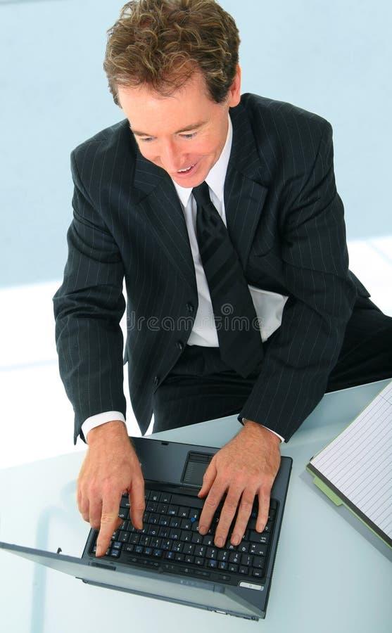生意人高级成功的工作 免版税库存照片