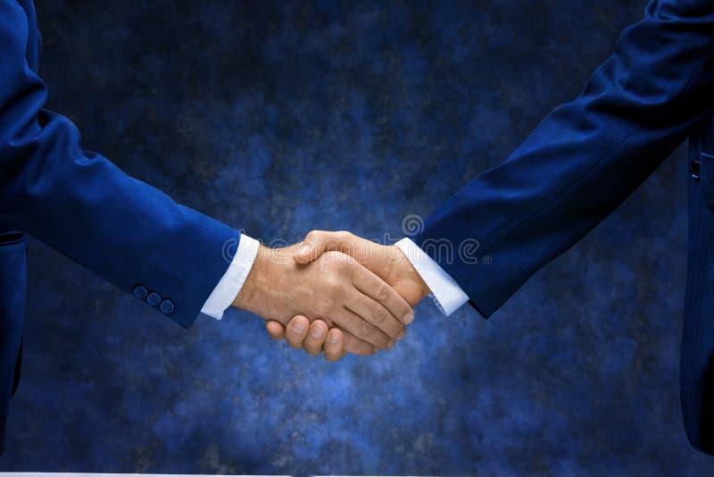 生意完成的信号交换 免版税图库摄影