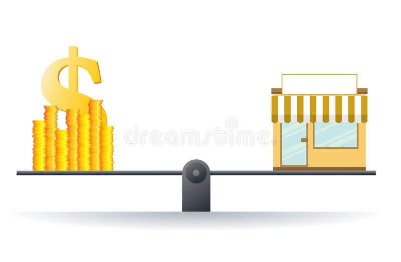 生意规范 向量例证