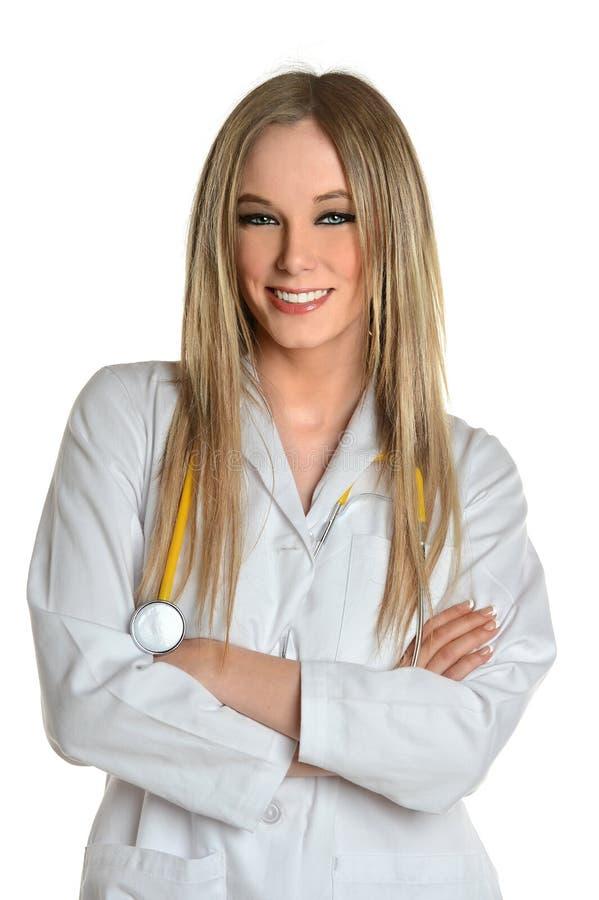 年轻医生或护士 库存照片
