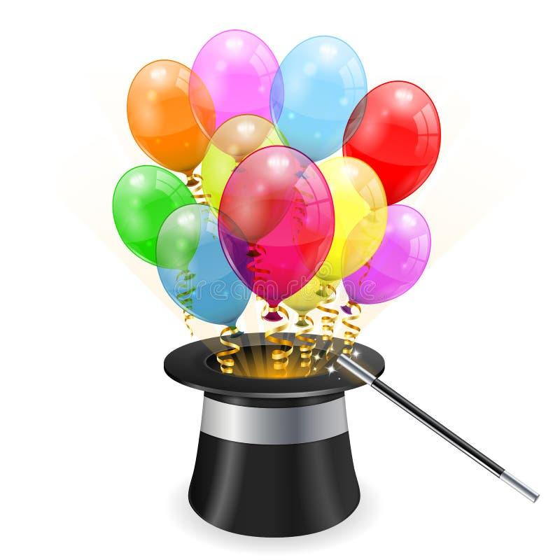 生日概念 皇族释放例证