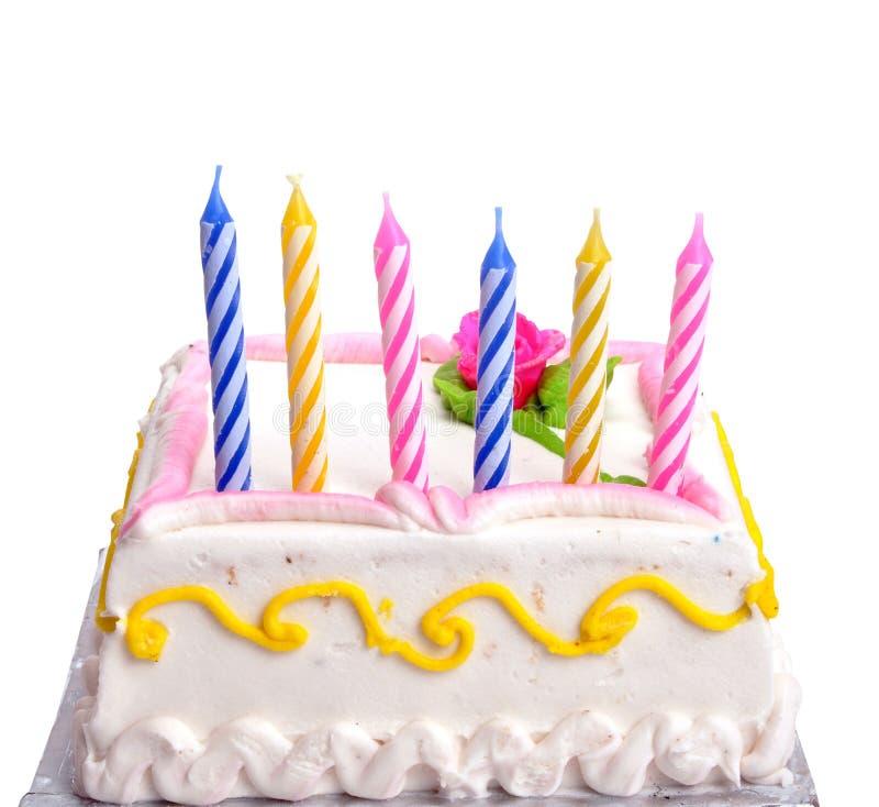 生日蜡烛 免版税库存图片