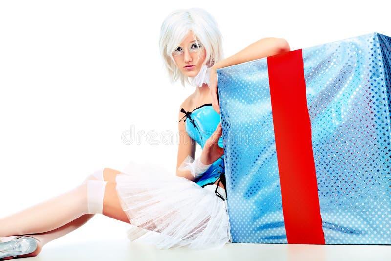 Download 生日 库存图片. 图片 包括有 魅力, beauvoir, 生日, 礼品, 女孩, 艺术性, 圣诞节, 庆祝 - 22355531