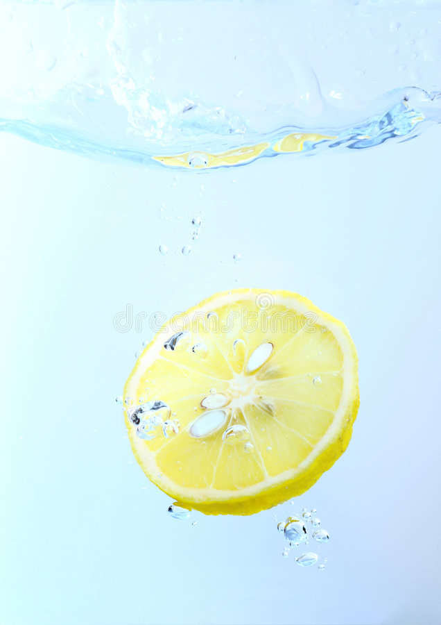生气勃勃柠檬 免版税库存照片
