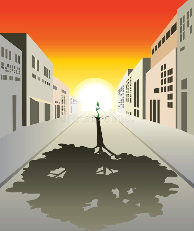 Download 生活新的胜利 向量例证. 插画 包括有 周围, 本质, 生态学, 工厂, 城市, 环境, 房子, 起始时间 - 17584368