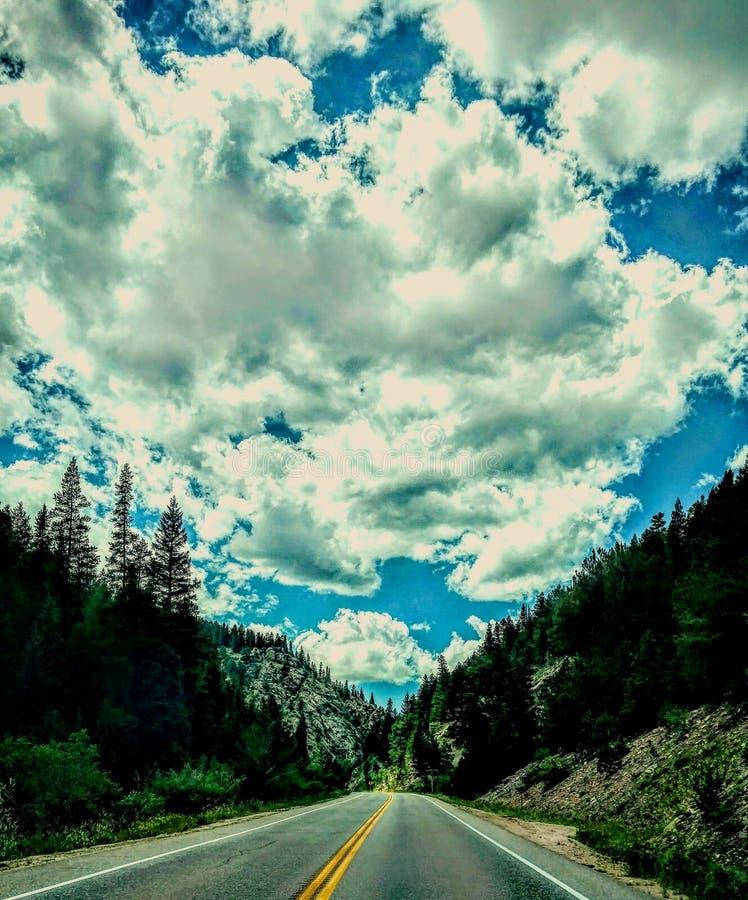 生活是高速公路 免版税图库摄影