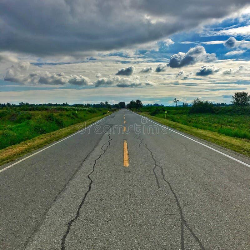 生活是高速公路 库存照片