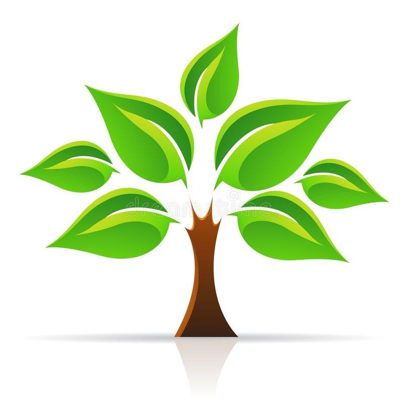 生活结构树 库存例证