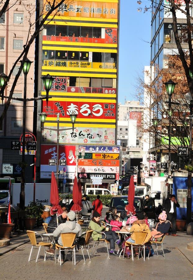 生活街道东京 库存图片