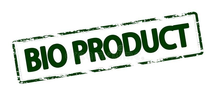 生物产品 向量例证