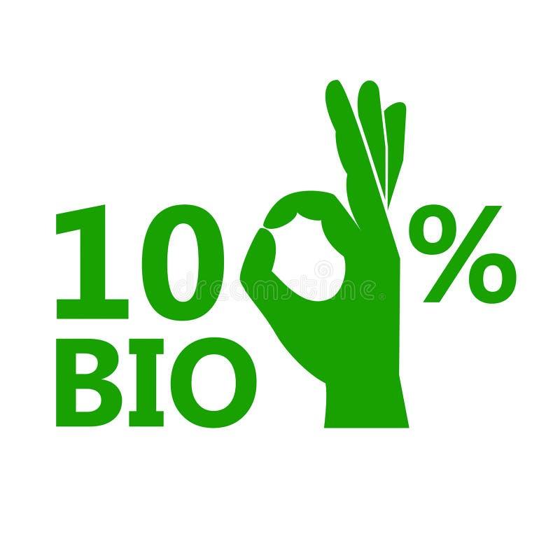 100%生物传染媒介象 向量例证
