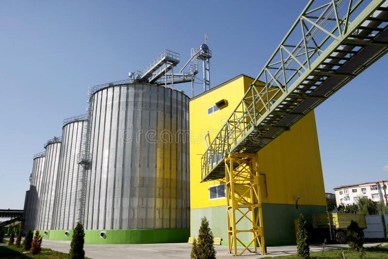 生物剂量工厂 免版税库存图片