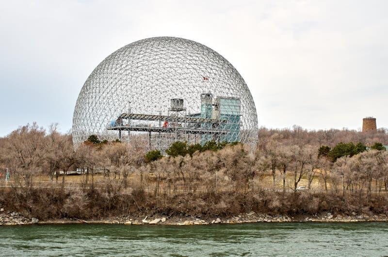 生物圈环境博物馆在蒙特利尔 图库摄影