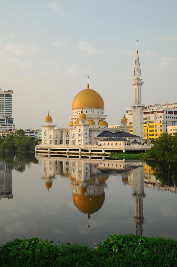 巴生皇家镇清真寺a K Masjid班达尔Diraja巴生 免版税库存图片