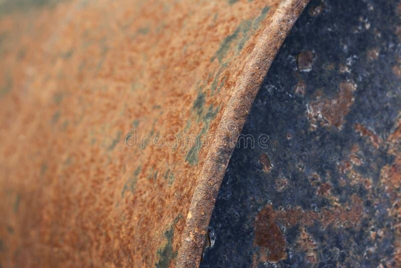 生锈和被绘的织地不很细金属 库存图片