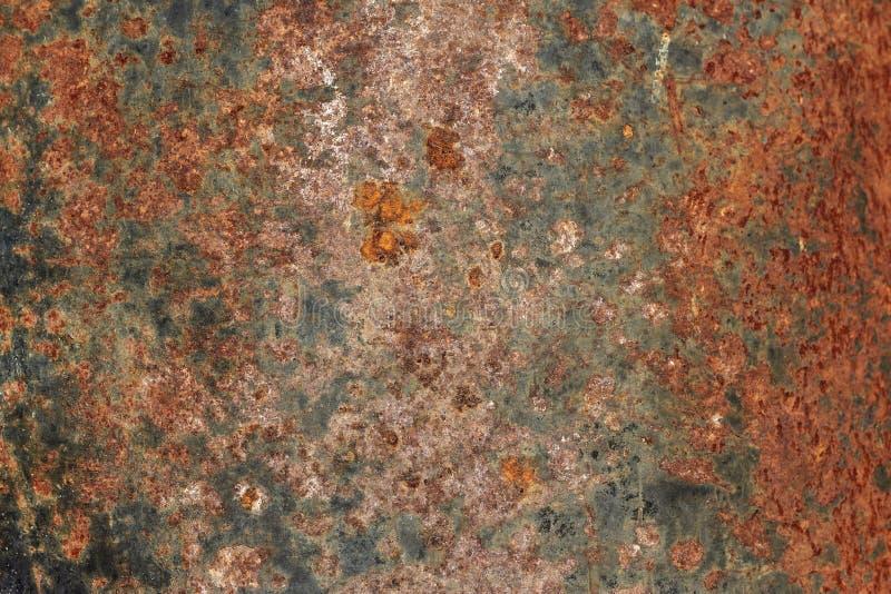 生锈和被绘的织地不很细金属 库存照片
