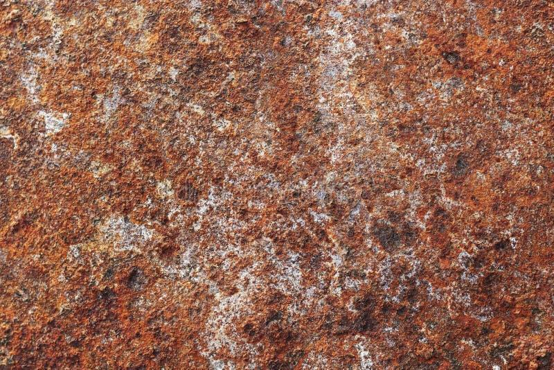 生锈和被绘的织地不很细金属 免版税库存图片