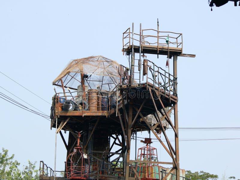 生锈的塔,普遍公园 免版税库存照片