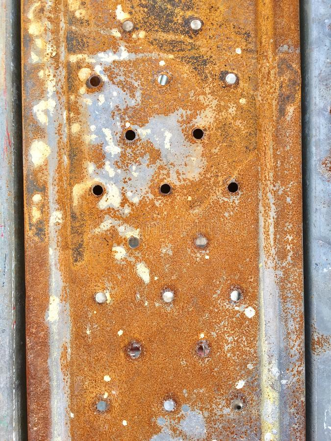 生锈的楼层 免版税库存图片