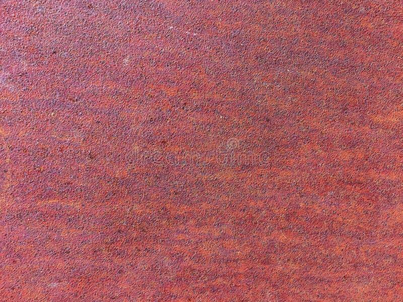 生锈的橙色金属纹理背景样式 图库摄影