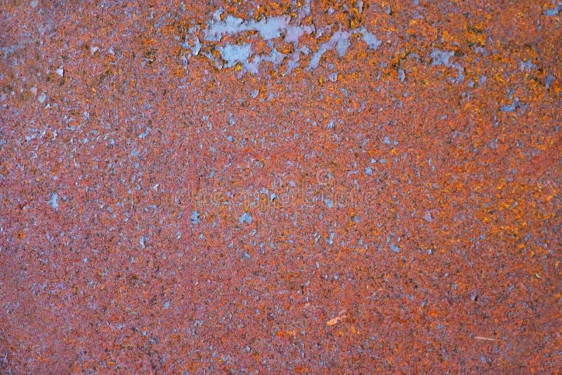 生锈的老金属板 抽象织地不很细背景 免版税图库摄影