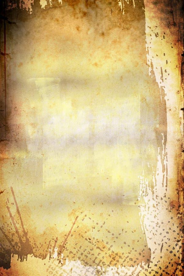 生锈的背景被绘 库存照片