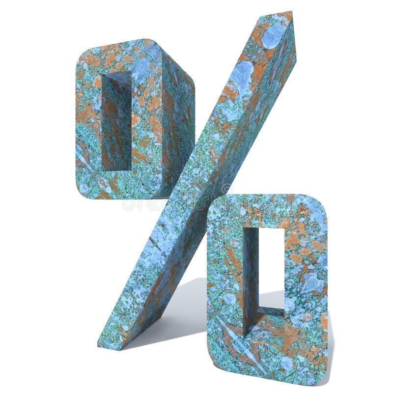 生锈的金属字体或类型,铁钢铁工业片断 向量例证