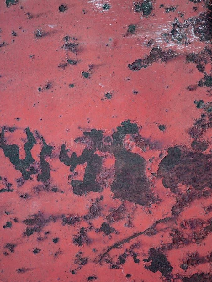 生锈的金属摘要纹理 免版税库存图片