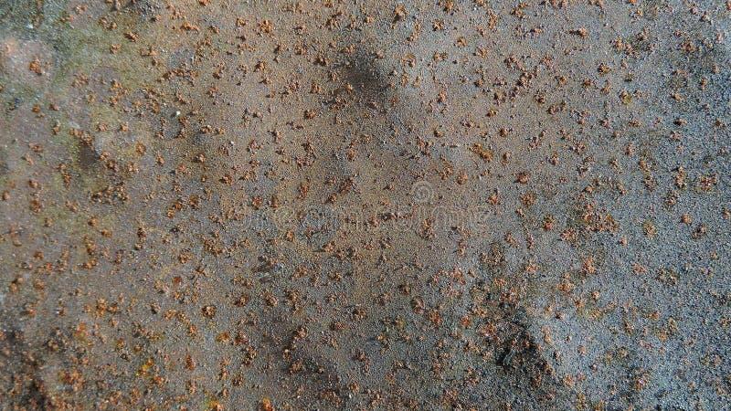 生锈的金属纹理,金属被暴露在时间,生锈的老金属,金属背景 图库摄影