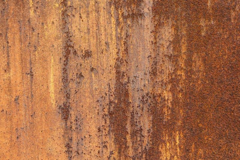 生锈的金属背景 库存图片