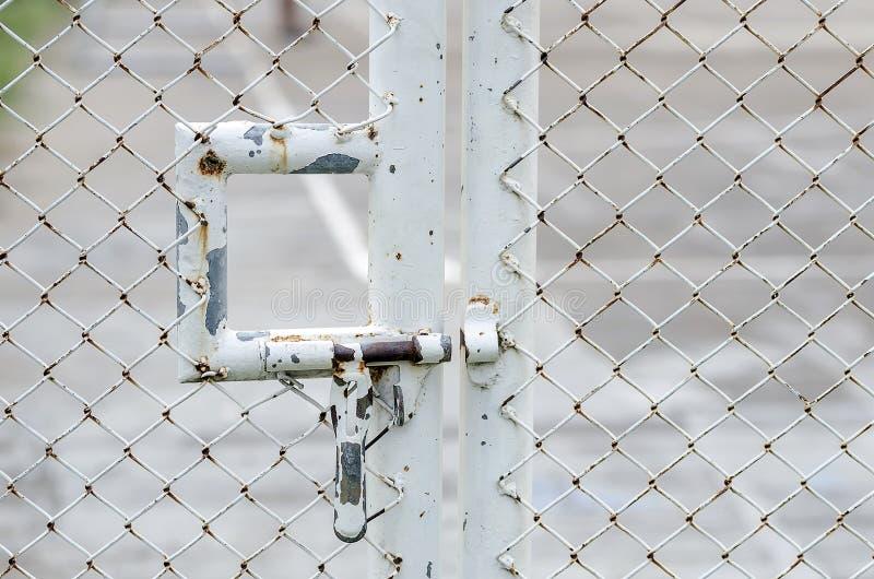 生锈的金属螺栓 库存照片