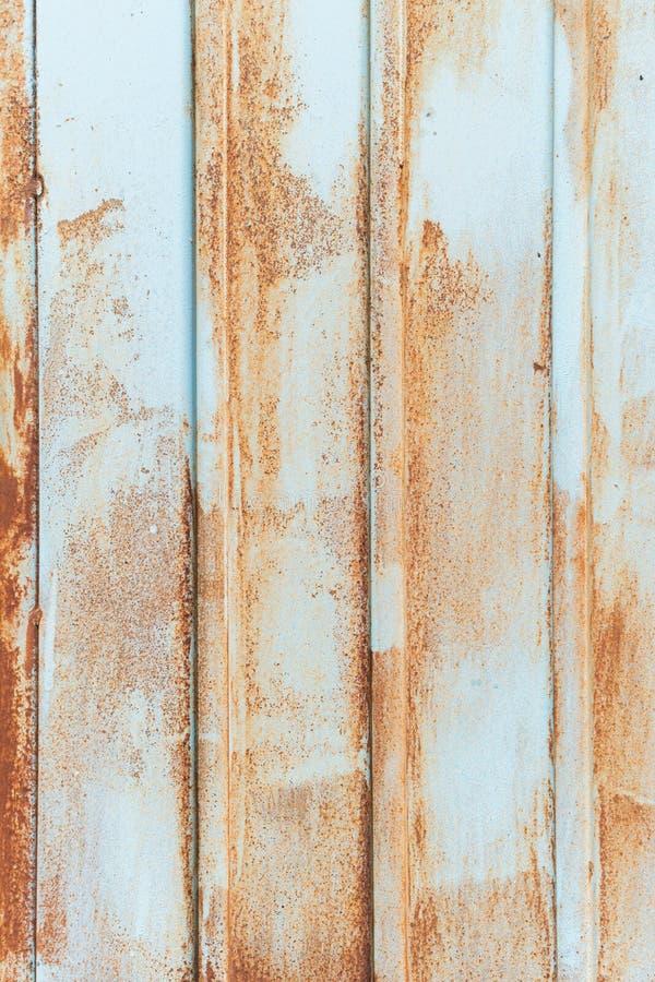 生锈的金属被构造的,老金属铁铁锈背景和纹理,金属腐蚀了纹理,生锈的金属背景 库存图片